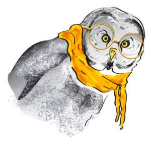 Mayor Feathers the Owl